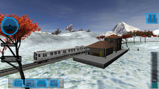 Drive Subway Mountain 3D Train