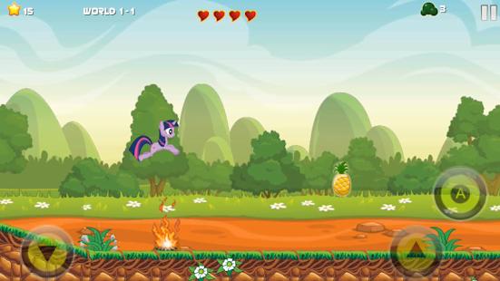 Adventure My Little Pony Run: Reach the Palace - náhled