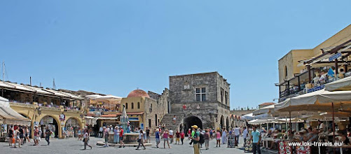 Photo: Rhodos oude stad | Rhodes old town. Platia Ippokratous.