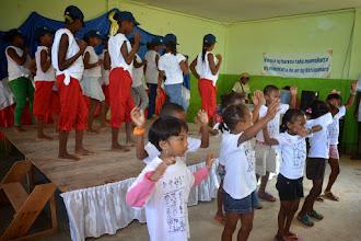 Photo: Accueil à l'école Saint-Joseph