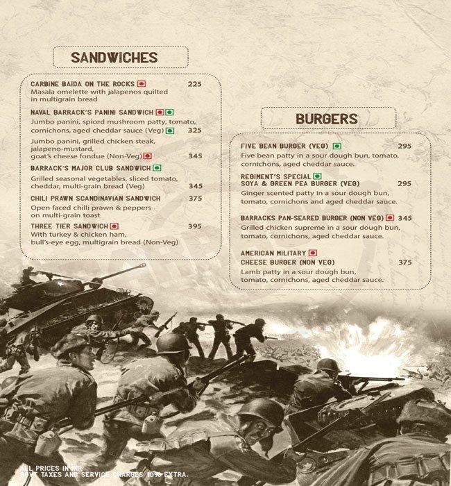 38 Barracks menu 20