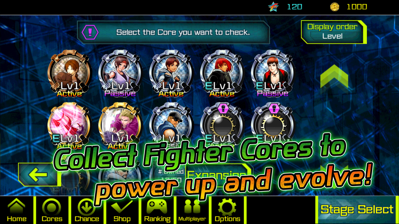 BEAST BUSTERS featuring KOF DX APK