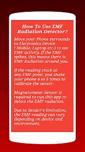 App EMF Detector - Radiation Meter App APK for Windows Phone