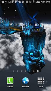 Floating Island Parallax LWP screenshot 2