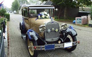 Ford A-ford Tudor Rent Drenthe