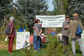 Photo: Journée de la Transition Citoyenne, 26 septembre 2015 - Changeons le système pas le climat ! - 07 Rosières à la recyclerie de Changement de Cap - © Olivier Sébart