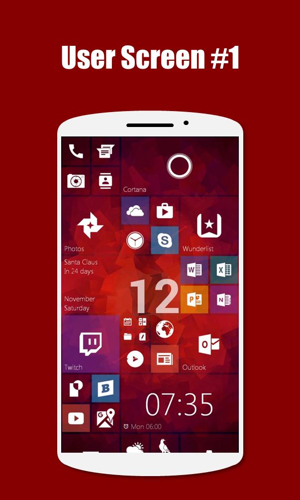 SquareHome 2 - Launcher: Windows style Screenshot 6