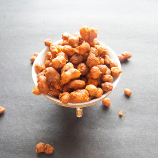 Masala Peanuts – How to make masala peanuts.