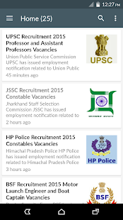 Govt Job Alert Sarkari Naukri- screenshot thumbnail