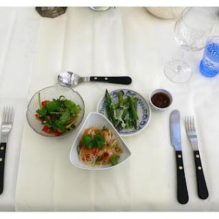 Asparagus Prawn Salad