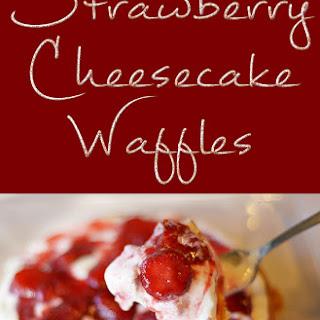 Strawberry Cheesecake Waffle