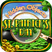 Hidden Object St Patricks Day Holiday Objects Game