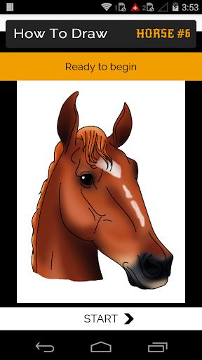 玩免費遊戲APP 下載How to Draw Horse app不用錢 硬是要APP
