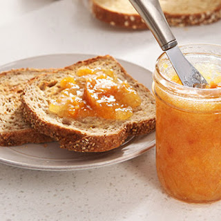 30 Minutes to Homemade SURE.JELL Peach Freezer Jam.