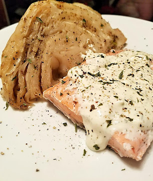 Poached Salmon With A Mustard Dill Sauce Recipe