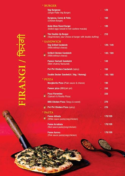 Ecstacy Bar n Eatery menu 11
