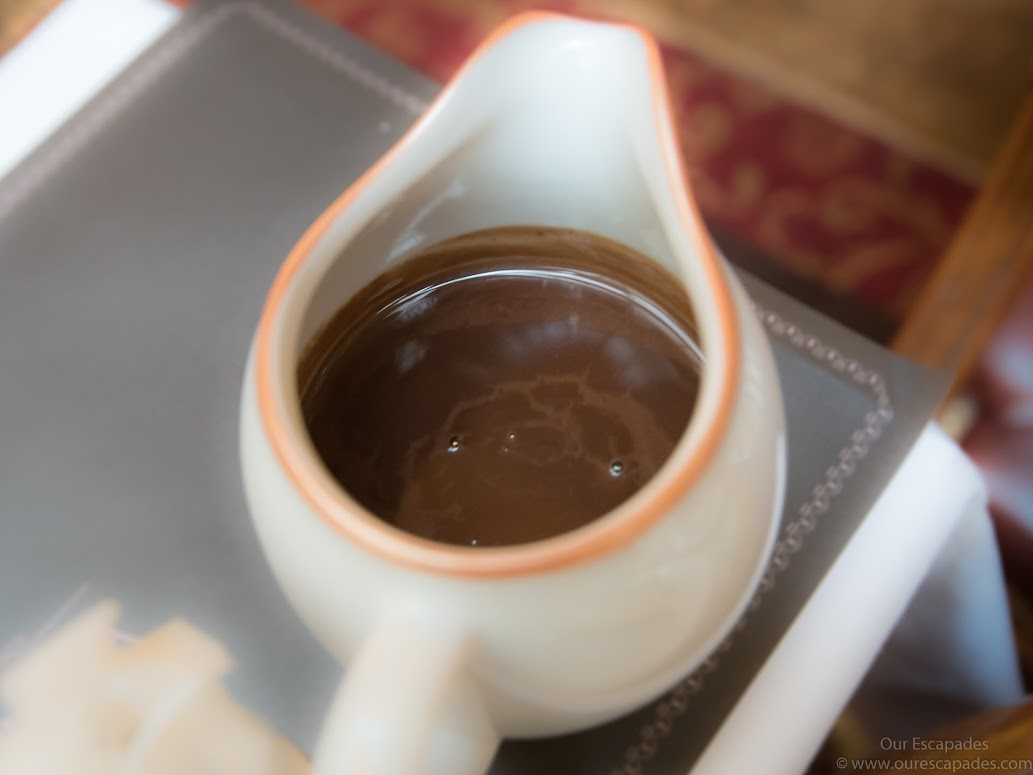 A pitcher of rich, creamy goodness