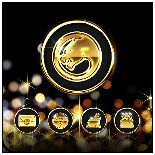 黑金閃耀優雅 商業 App LOGO-硬是要APP