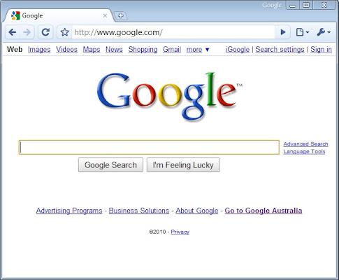 Google chrome 2012