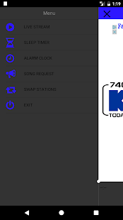 KMZN Radio- screenshot thumbnail