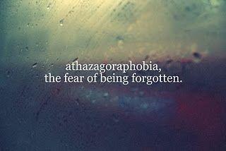 Athazagoraphobia (An Overview)