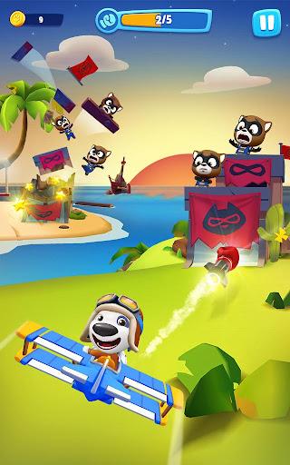 Talking Tom Sky Run: The Fun New Flying Game apktram screenshots 10