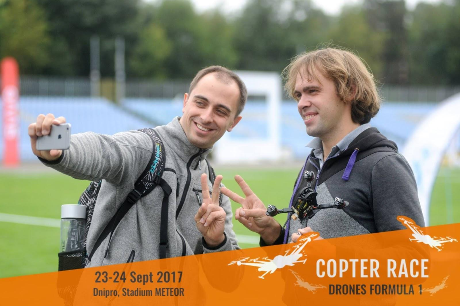 Dnipro, Ukraine, Staged For International Drone-Racing Competitions Powered By Max Polyakov