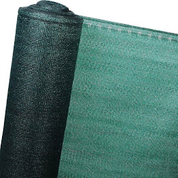 Plasa verde protectie pentru umbrire, opaca, rola 1.5 x 50 metri