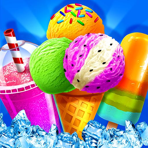 🍦🥤Dessert Cooking Game - Ice cream & Juice