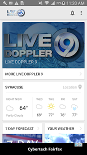 WSYR LiveDoppler LocalSYR Android Apps On Google Play - Wsyr weather forecast