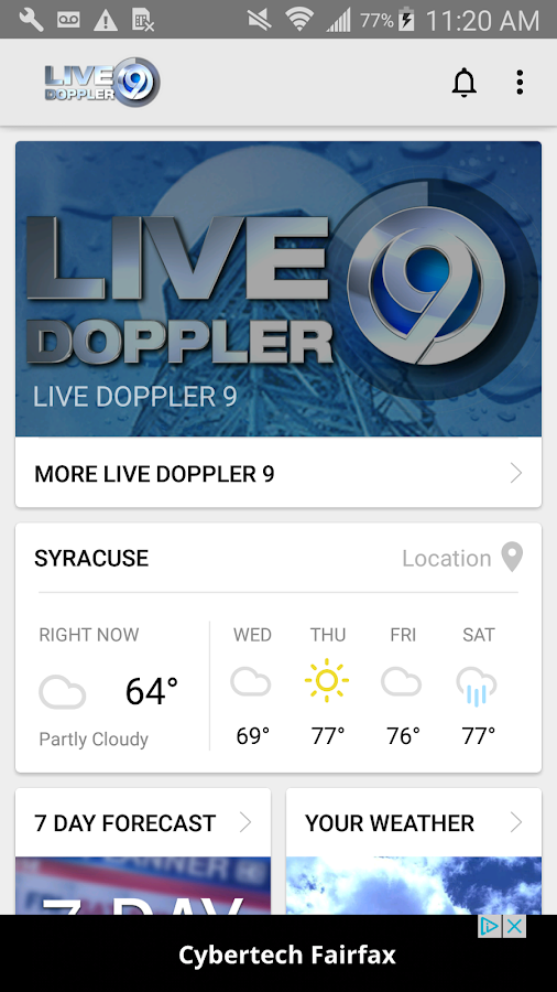 WSYR LiveDoppler9 LocalSYR- screenshot