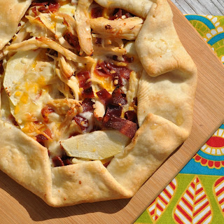 Turkey, Bacon, and Cheese Crostata