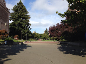 Photo: View to the Quad on the University of Washington