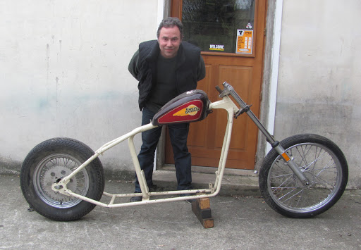 Projet Drag Harley de Nico Laté.