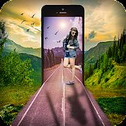 Phone Overlay Effect -Photo Overlay Blender Effect