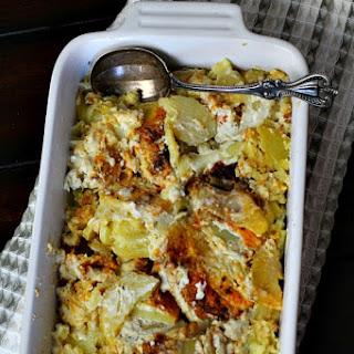 Old Fashioned Scalloped Potato Casserole.