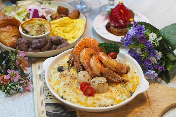 台中美食 暖谷莊園-夢幻童話風森林餐廳,全新推出焗烤燉飯超吸睛