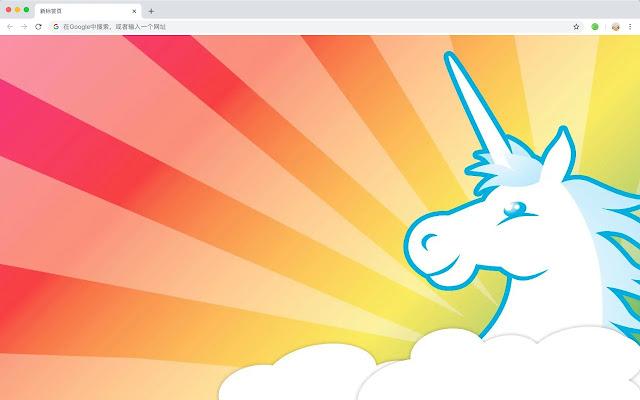 Unicorn HD New Tabs Popular Dreams Theme