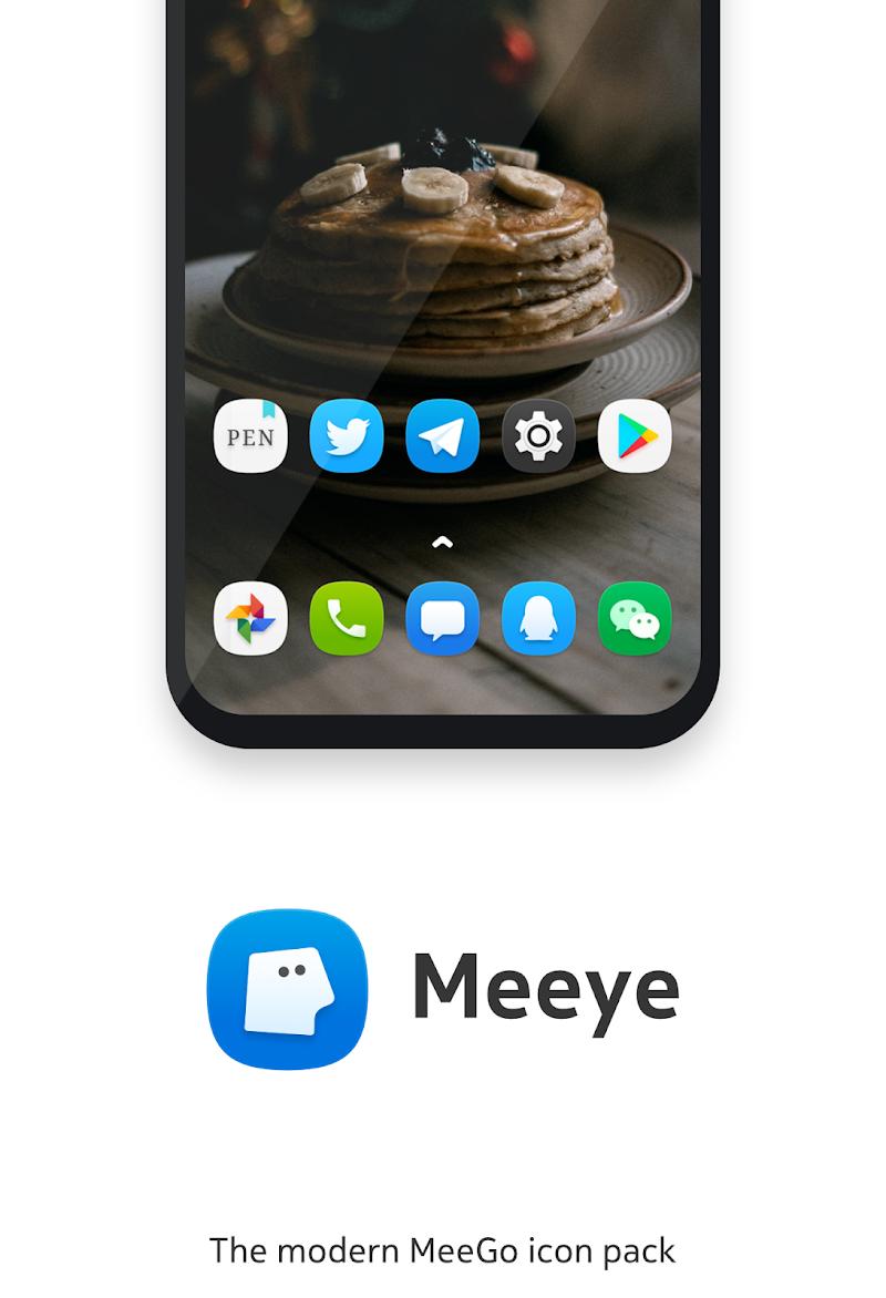 Meeye Icon Pack - Modern MeeGo Style Icons Screenshot 0