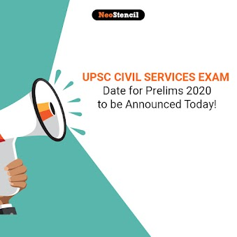 UPSC Civil Services exam date for Prelims 2020 to be announced today!