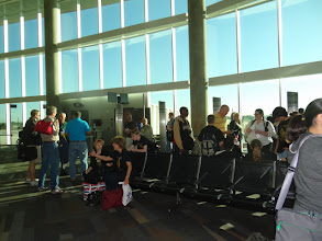 Photo: at airport