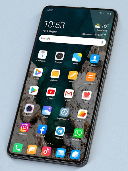 Miui 12 - Icon Pack Screenshot Image