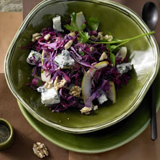 Red Cabbage and Pear Salad