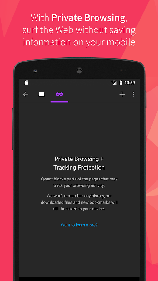 Qwant- screenshot