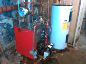 Photo: New oil boiler in Westbury, N.Y.