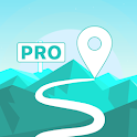 GPX Viewer PRO - Tracks, Routes & Waypoints icon