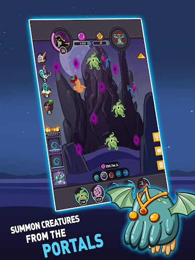 Tap Temple: Monster Clicker Idle Game apkmr screenshots 9
