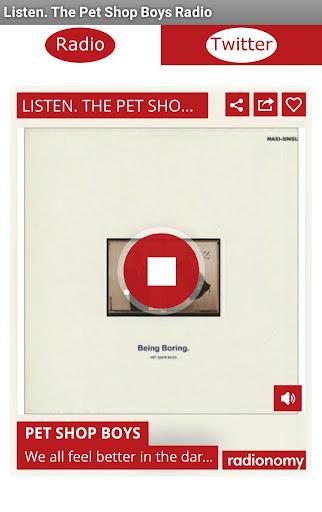 Listen.The Pet Shop Boys Radio