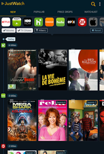 JustWatch – Search Engine for Streaming and Cinema 10
