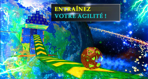 Boule 3D : Conquête De L'espace-Jouer Gratuitement  captures d'écran 2